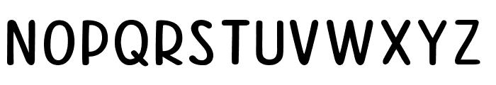 Good Feeling Sans Font UPPERCASE