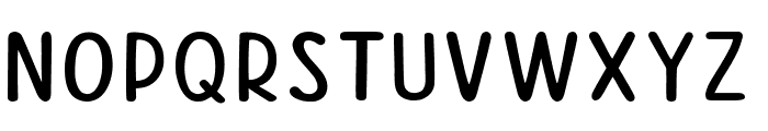 Good Feeling Sans Font LOWERCASE
