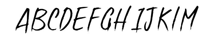 Good Foot Font UPPERCASE