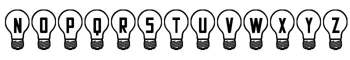 Good Idea St Font UPPERCASE
