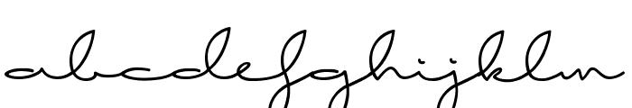 Good Karma demo Font LOWERCASE