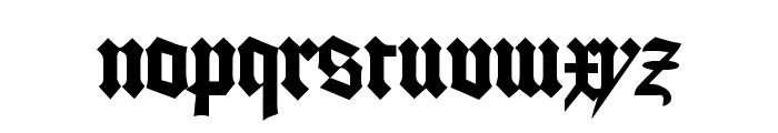 GoodCityModern Plain Font LOWERCASE