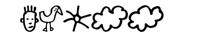 GoodDog-Bones Font OTHER CHARS
