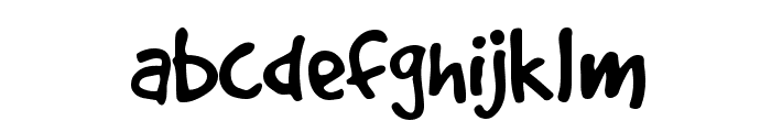 GoodDog Plain Font LOWERCASE
