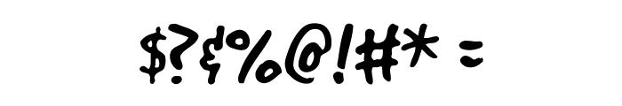 GoodDog Font OTHER CHARS