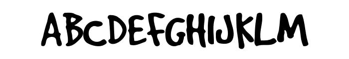 GoodDog Font UPPERCASE