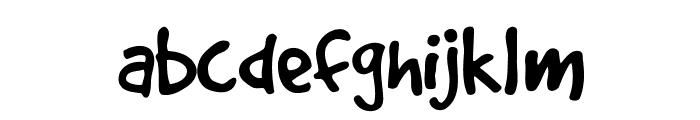 GoodDog Font LOWERCASE