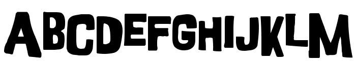 GoodGirl Font LOWERCASE