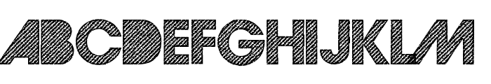 GoodMorningAfternoonDEMO Font UPPERCASE