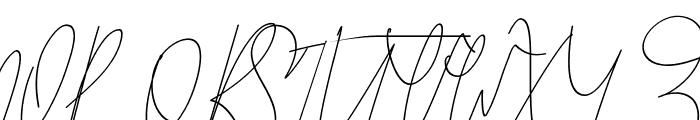GoodWish Italic Font UPPERCASE