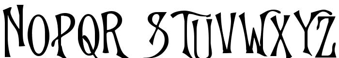 Goodfellow Font UPPERCASE