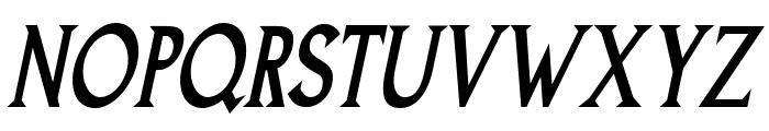 Goodfish-BoldItalic Font UPPERCASE