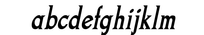 Goodfish-BoldItalic Font LOWERCASE
