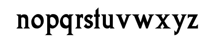 Goodfish-Bold Font LOWERCASE