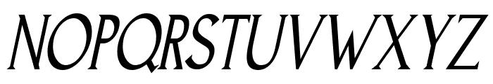 Goodfish-Italic Font UPPERCASE