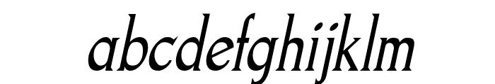 Goodfish-Italic Font LOWERCASE