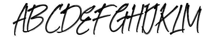Goodlights Font UPPERCASE