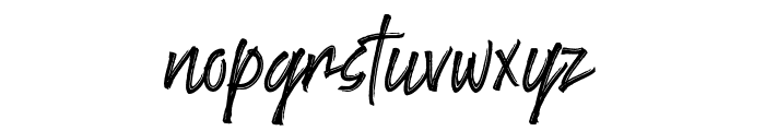 Goodlights Font LOWERCASE
