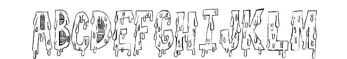 GoodnightFreak-Regular Font UPPERCASE
