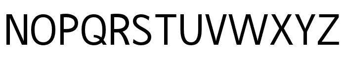 Goodwill Font UPPERCASE