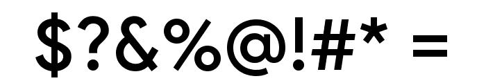 Google Sans Medium Font OTHER CHARS