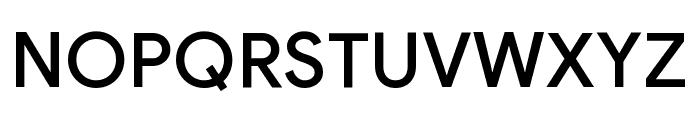 Google Sans Medium Font UPPERCASE