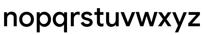 Google Sans Medium Font LOWERCASE