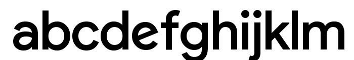 Google September 2015 Regular Font LOWERCASE
