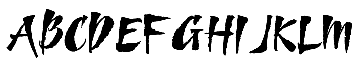 Goombella Font UPPERCASE