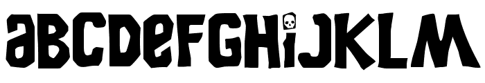 Goonies Font LOWERCASE