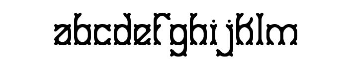 Goose Bumps BRK Font LOWERCASE
