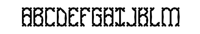 Goose Bumps II BRK Font UPPERCASE