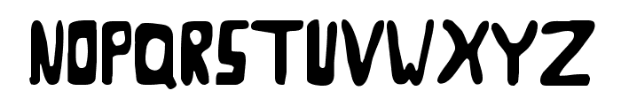 Goose Neck Regular Font UPPERCASE