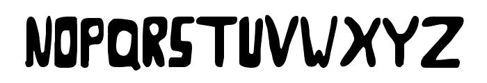 Goose Neck Regular Font LOWERCASE