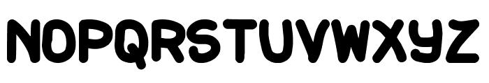 Gordita Fuerte St Font UPPERCASE