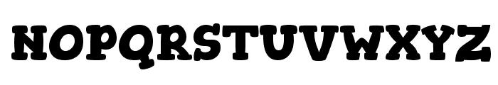 Gorditas Bold Font UPPERCASE