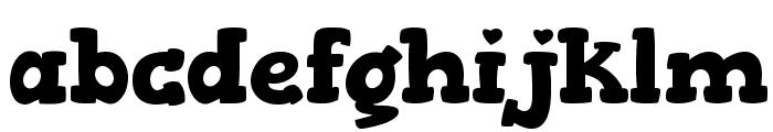 Gorditas Bold Font LOWERCASE
