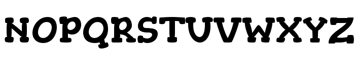 Gorditas Font UPPERCASE