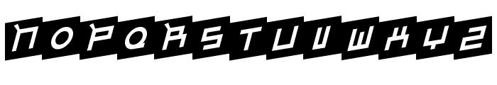 Gordon Font UPPERCASE