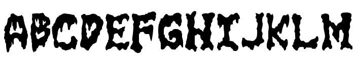 GoreFont II Font UPPERCASE