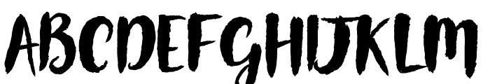Gorgeously World - DEMO Font UPPERCASE