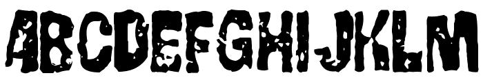 GorgoBold Font UPPERCASE