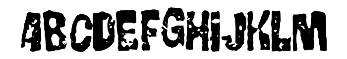 GorgoBold Font LOWERCASE