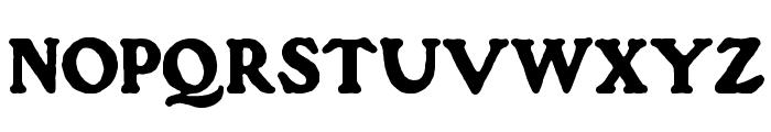 Gorilla Black Font UPPERCASE