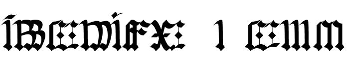 Gorwelion Font UPPERCASE