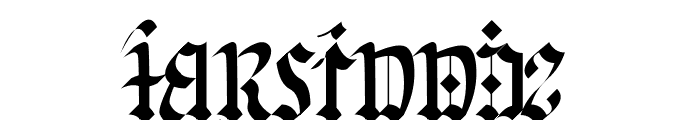 Gorwelion Font LOWERCASE