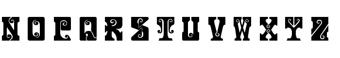 Gosford Font LOWERCASE