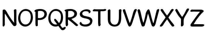 GosmickSans Font UPPERCASE