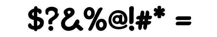 GosmickSansBold Font OTHER CHARS