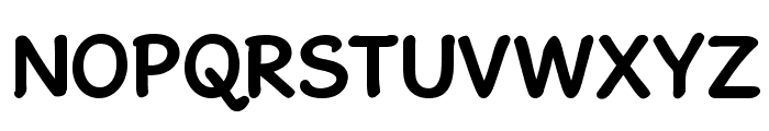 GosmickSansBold Font UPPERCASE